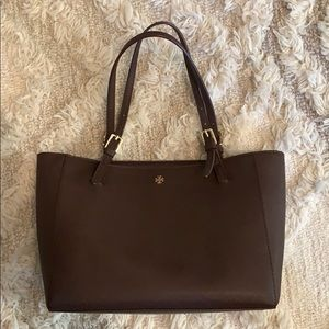 Tory Burch Small York Tote w/ Dust Bag (Brown)